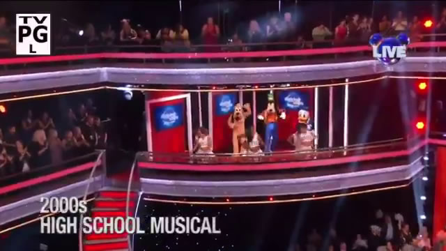 DWTS Troupe Performs High School Musical Disney